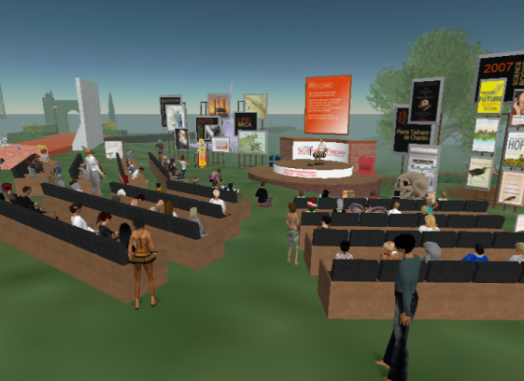 secondlife science friday