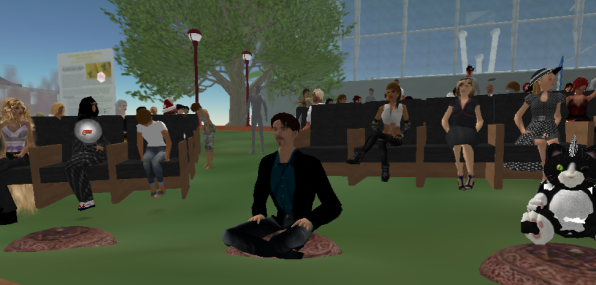 Here I am in Second Life