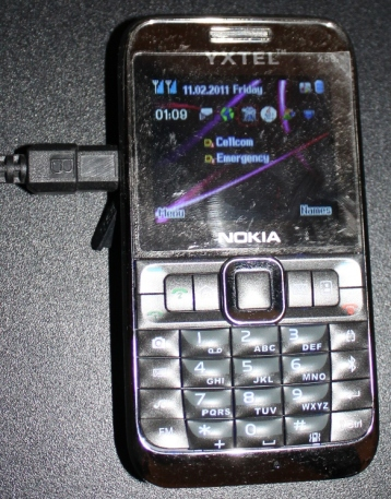 Fake Nokia Cellphone acting as a dedicated SMS server
