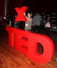 Holding the x in TEDxRamallah