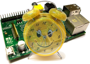 RaspberryPi Alarm clock