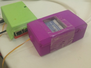Rasepberrypi and relay in cases